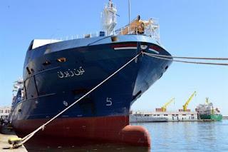 La CNAN se dote d'un nouveau navire de transport de marchandise