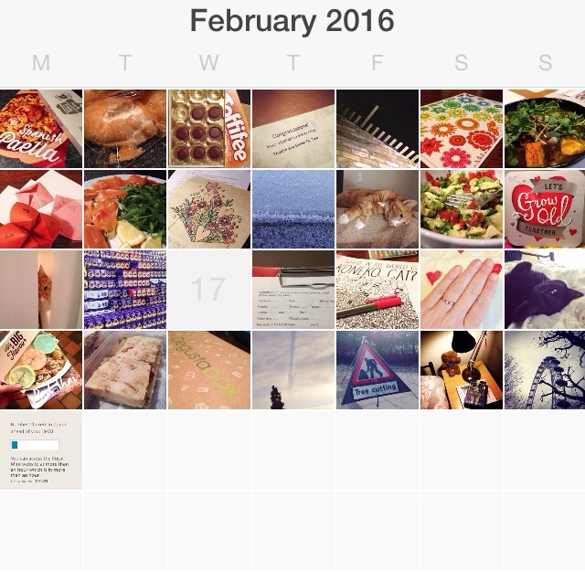 I started a photo a day project (PAD) in 2014 and am still going!  This is my photo a day and round up for February 2016