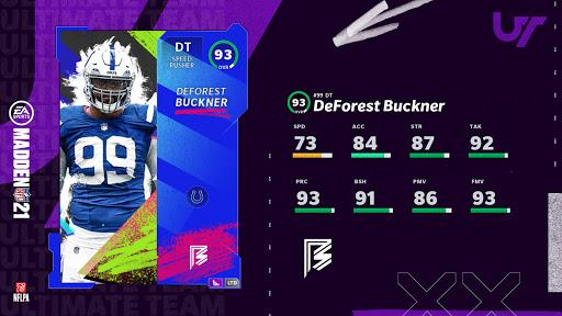 Madden 21 DeForest Buckner
