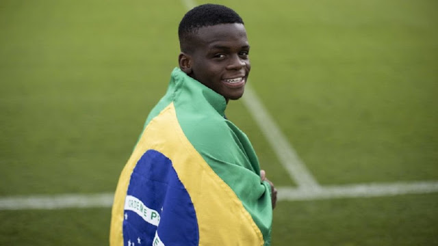 "18-year-old Fluminense midfielder Metinho, who is known as the ""Brazilian Paul Pogba photo"