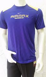 Áo thun thể thao nam Nike Air Max xanh bích