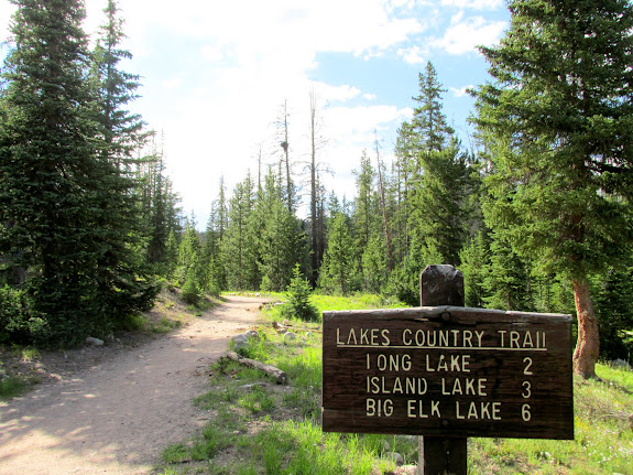 Crystal Lake trailhead