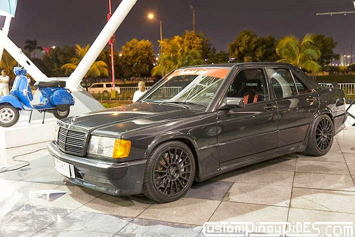 Mercedes Benz 190E Custom Pinoy Rides Philip Aragones Car Photography Manila Philippines