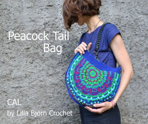 Peacock Tail Bag CAL