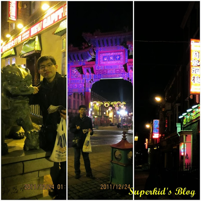 Superkid在利物浦中國城!!!