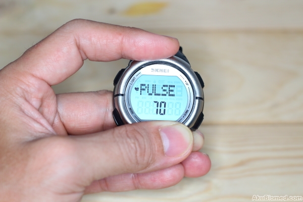 Skmei Pedometer Heart Rate Watch