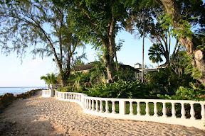 The resort next door