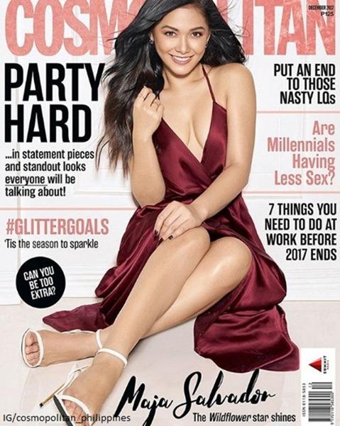 Maja Salvador for Cosmo PH Dec 2017