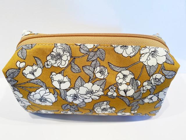 flower zipper bag