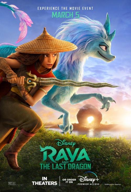 Trailer de la nueva película de Disney: Raya y el Dragón