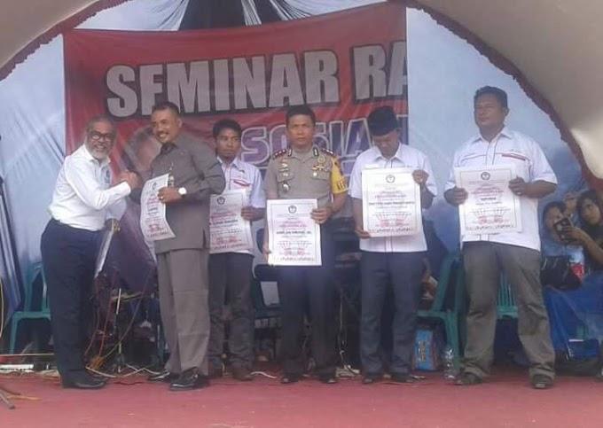 Seminar Dan Sosialiasi KPAI di Desa Semirejo Gembong Pati