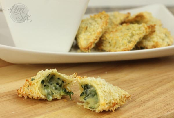 Toasted Spinach Ravioli