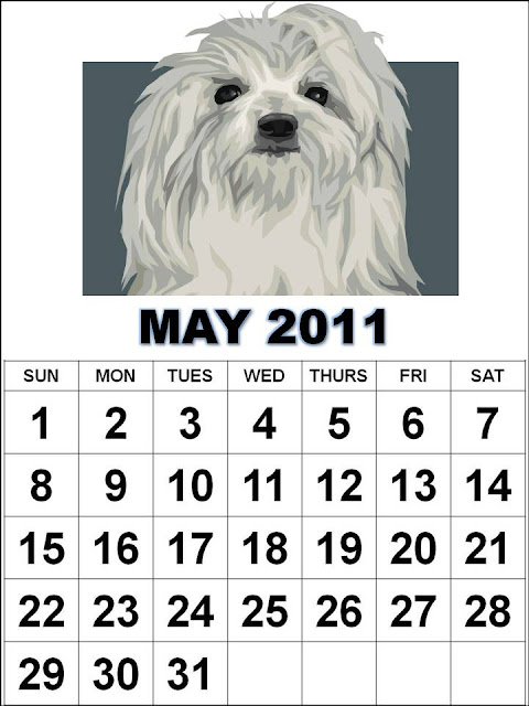 printable calendar 2011 may. may 2011 calendar printable