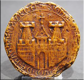 Sello de Hamburgo en 1241