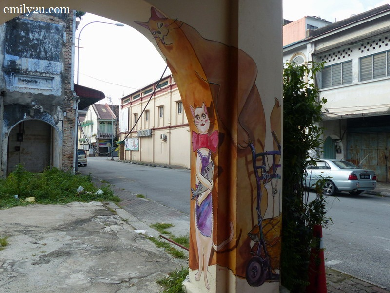 Ipoh wall art graffiti