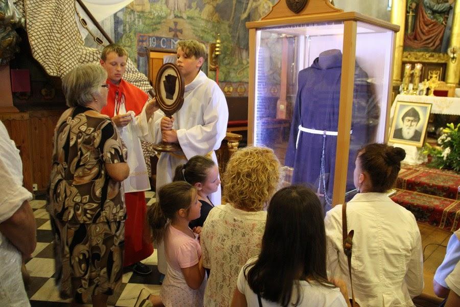 Z relikwiami św. O.Pio w Istebnej - IMG_3494.JPG