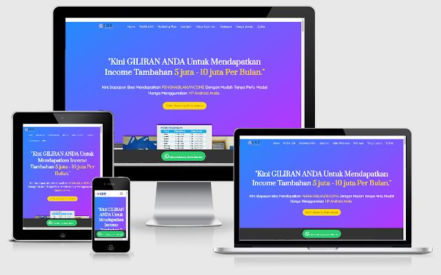 Download Landing Page Bisnis Online Gratis