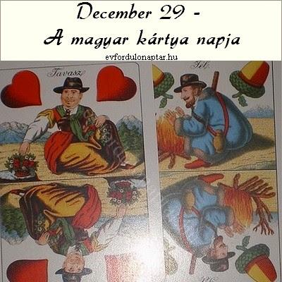 A magyar kártya napja