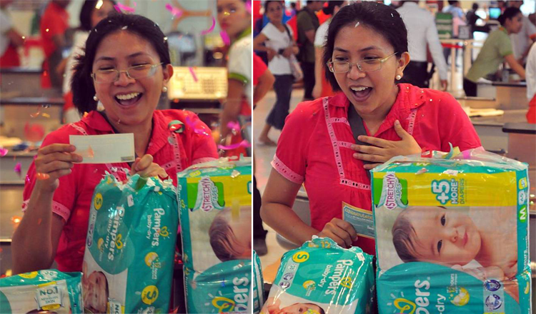 Pampers First Million's First Winner of PHP1 Million