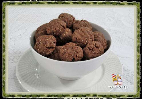 Biscoito de chocolate da Marine 2