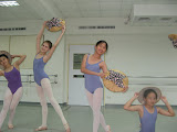 Bethanie's ballet class