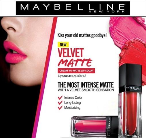 MAYBELLINE VELVET MATTE 2