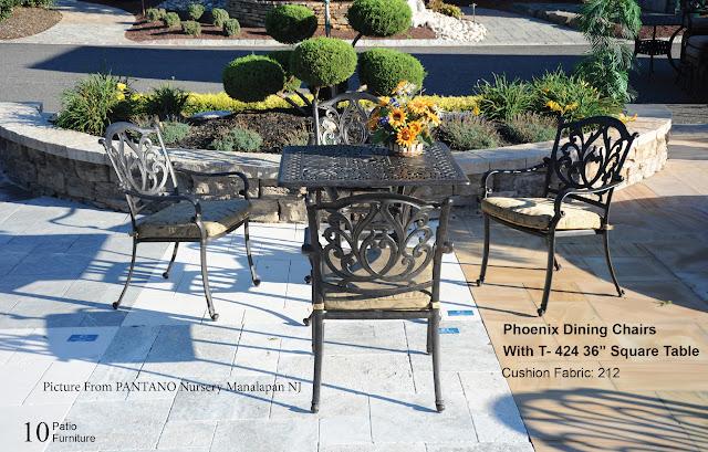 phoenix patio table set dwl patio furniture nj wholesale