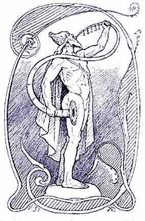 Heimdall Guardian Of Bifrost, Asatru Gods And Heroes