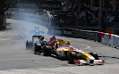 Sebastian Buemi, Toro Rosso STR4 crash