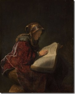 An-Old-Woman-Reading