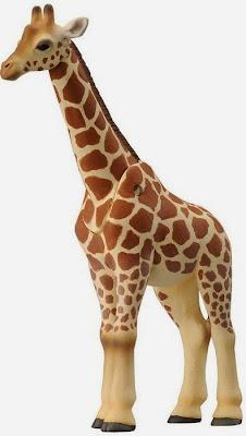 Hươu cao cổ trong bộ đồ chơi Vườn thú Ania Safari Park