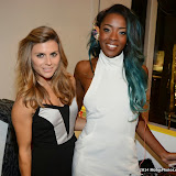 WWW.ENTSIMAGES.COM -      Zoe Hardman and  AJ Odudu  at      Whistle and  Bango  launch party at Wolf and Badger, London October 23rd 2014Ashley James, Ania Kubow and Rosie Parkes are showcasing their new brand and bracelets at a celebrity studded press launch                                                 Photo Mobis Photos/OIC 0203 174 1069