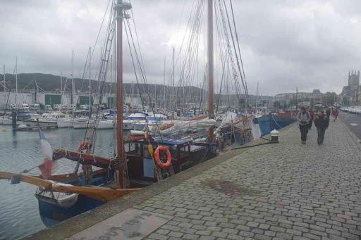 Port de Fécamp.