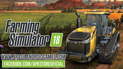 Download Farming Simulator 18 v1.1.0.2 APK MOD DINHEIRO INFINITO OBB Grátis - Jogos Android