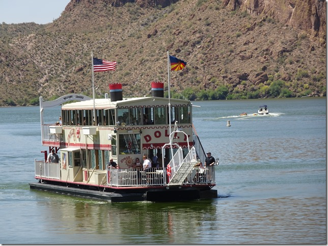 Dolly Steamboat on Canyon Lake