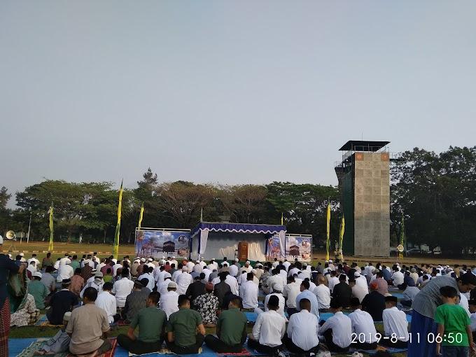 Shalat Iedul Adha 1440 H di Lapangan Rindam IV Diponegoro kota Magelang