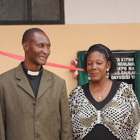 Pastor Michael and Josephine Mashauri, both nurses on our team.