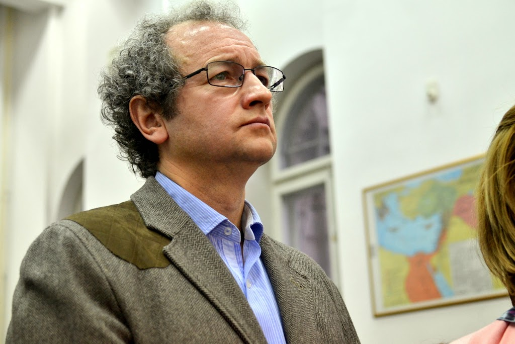Conferinta Despre martiri cu Dan Puric, FTOUB 041