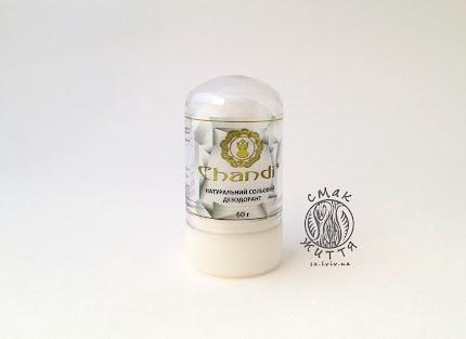 Натуральний сольовий дезодорант «CRYSTAL» Shandi