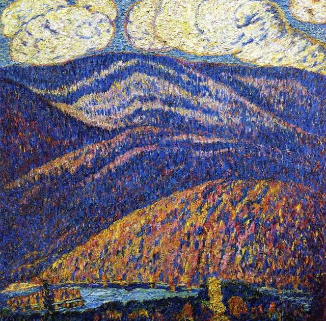 Marsden Hartley - Hall of the Mountain King