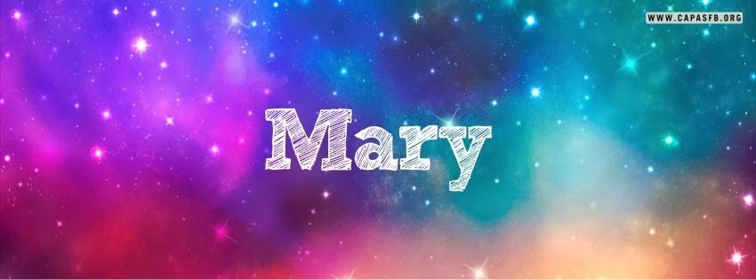 Capas para Facebook Mary