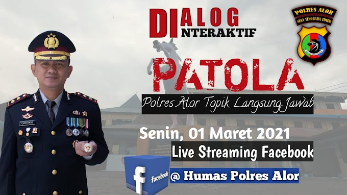Ayo, Ikuti Lounching Virtual Dialog Interaktif Live Streaming dan Virtual Police Alor
