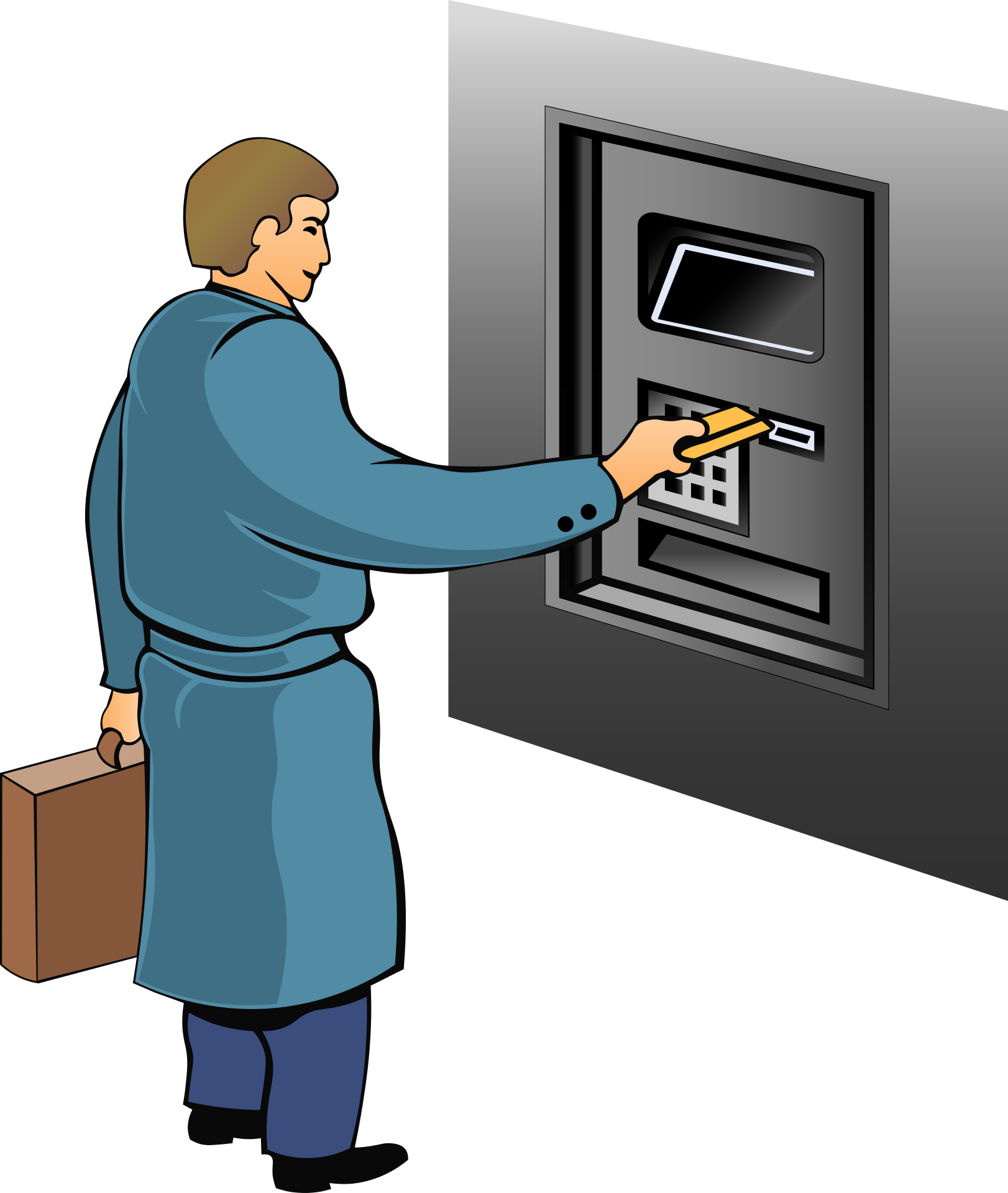 What is the full form of ATM and PIN   Who is founder of ATM
