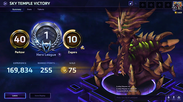 Heroes of the Storm - Rank 1