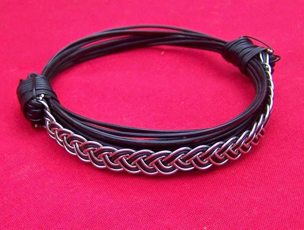 Elephant Hair Bracelet With Gold For Men Elephant Hair Bracelet 39 s