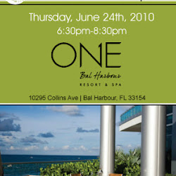 Pillar Reception at ONE Bal Harbour