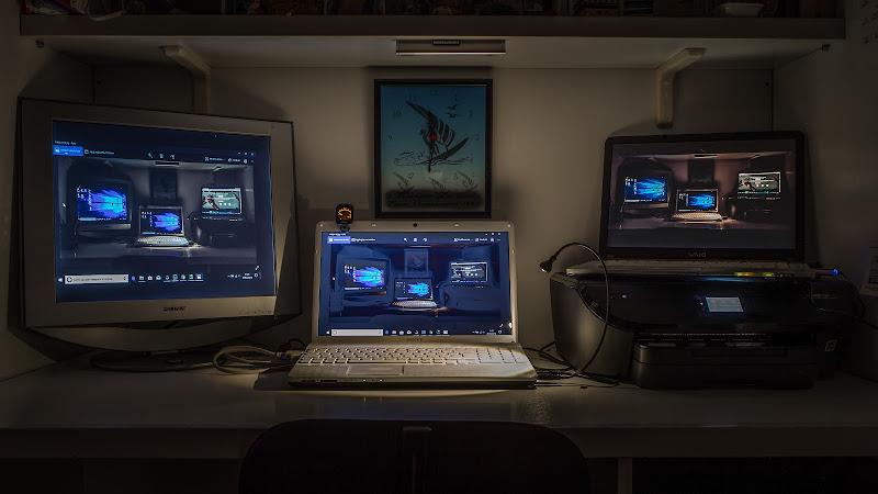 tre schermi piccoli non ne fanno uno grande; ahimè di massimo bertozzi