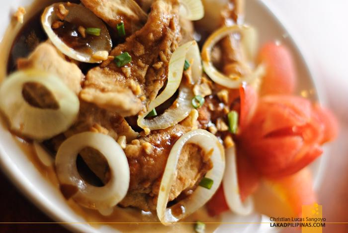 Crispy Tilapia Fillet at Legazpi's 1st Colonial Grill