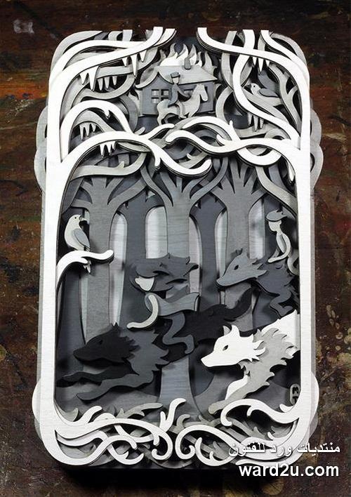 فن الاركت فى تفاصيل خيالية ابداع Martin Tomsky