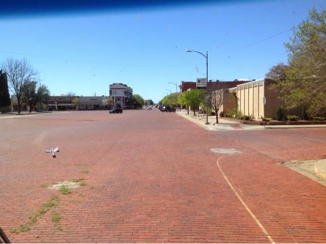 Brick Street in Memphis, TX